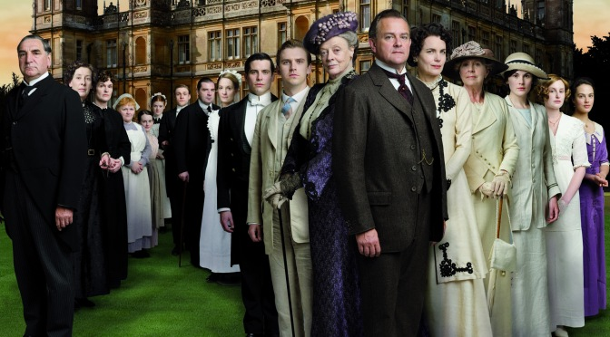 Slice and Dice: Downton Abbey Style