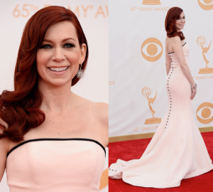 Carrie Preston at 2013 Emmys