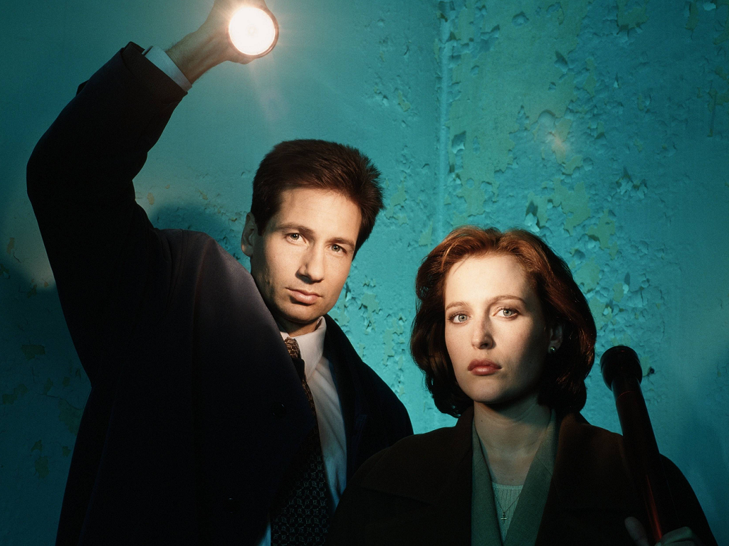 The X-Files' David Duchovny and Gillian Anderson