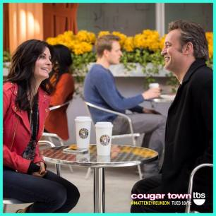 First Look: Matthew Perry on Cougar Town