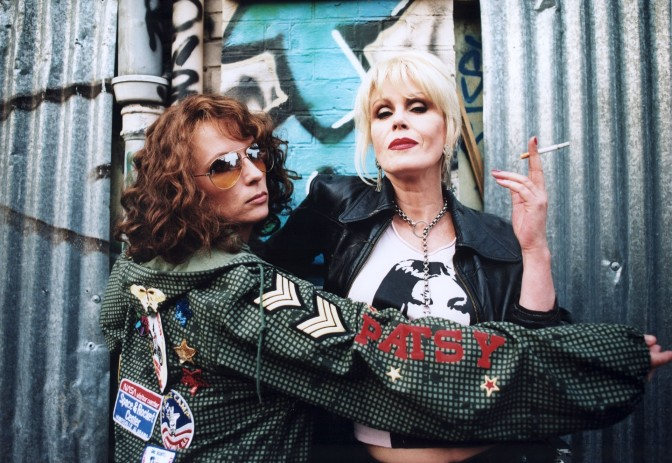 Grab the bolly sweetie darling as the Ab Fab Movie trailer drops!
