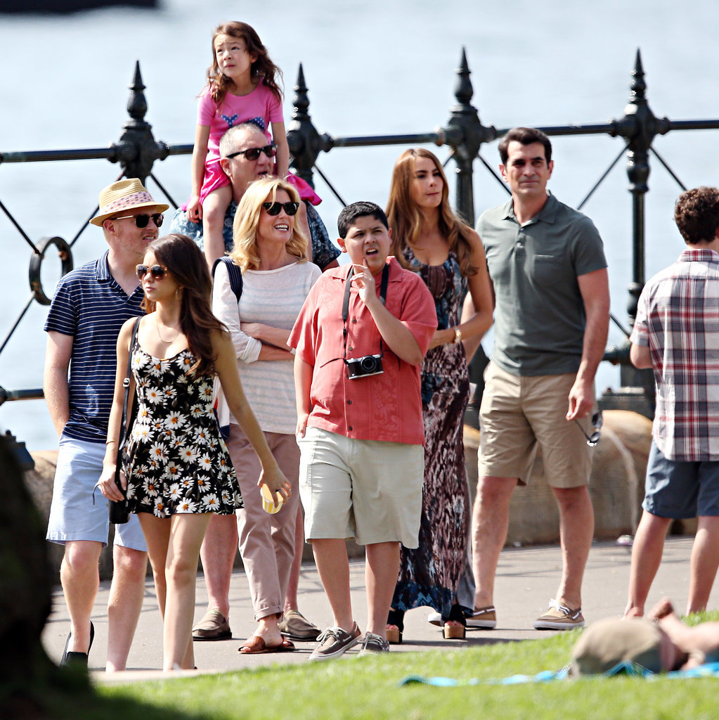 So what exactly is it that brings the extended Pritchett family to Australia  for a special Modern Family episode? Australian heritage!