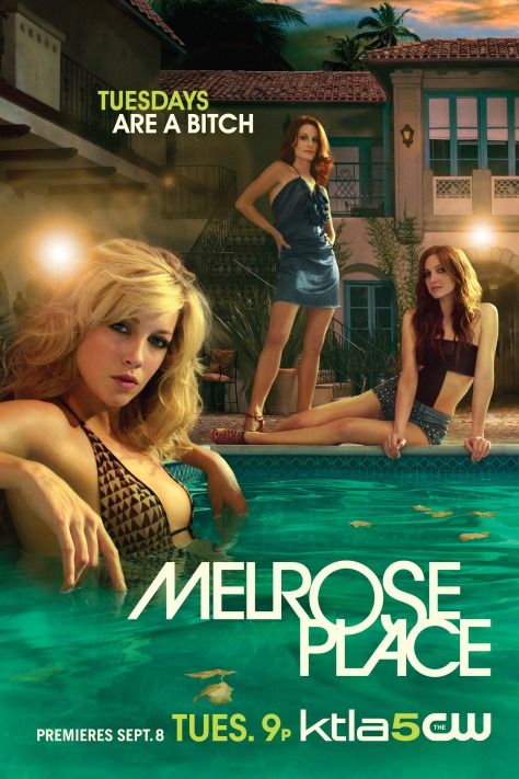 Melrose Place 2.0: Season 1. Bringing back the iconic apartment building with a handful of original tenants, Melrose Place 2.0 offers a rather guilty pleasure for binge viewing.  There's only 18 episodes in this single season that works around a whodunit murder of Sydney Andrews (Laura Leighton) where most of the tenants currently residing in Melrose Place, plus those from her past, Michael Mancini and Amanda Woodward, are all suspects.  Season One available to buy on DVD via Amazon or you should be able to find a copy floating around eBay.