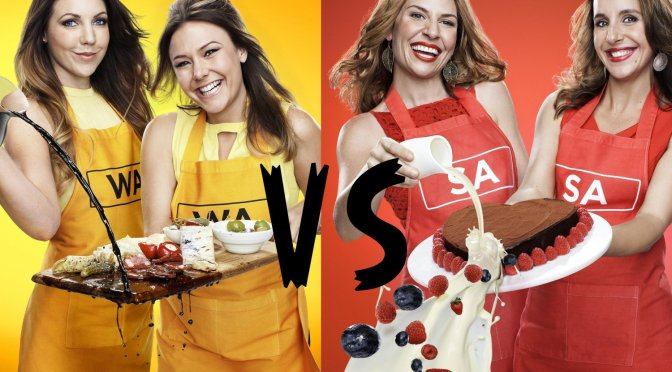 MKR Finale Chloe and Kelly Vs Bree and Jess