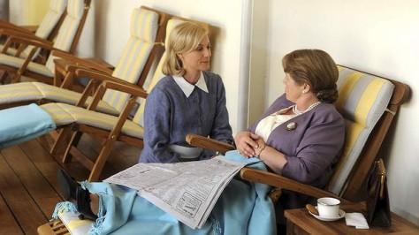 Marta Dusseldorp and Noni Hazelhurst. Souce: Provided