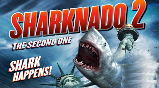 Sharknado 2 First Look Trailer Online.