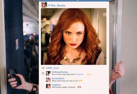Karen Gillan in ABC's 'Selfie'