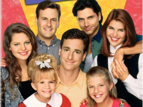 The cast of the 80's sitcom Full House