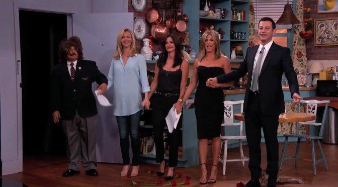 Jimmy Kimmels FRIENDS Fan Fiction Reunion