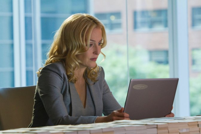 Gillian Anderson's Crisis Comes to ONE on Wednesdays