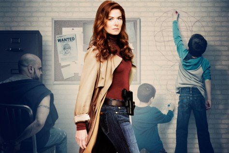 Debra Messing leads the new series The Mysteries of Laura