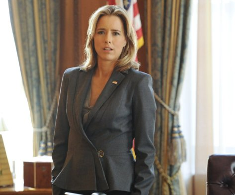 Tea' Leoni stars as Elizabeth McCord in new Madam Secretary.  Source: Provided