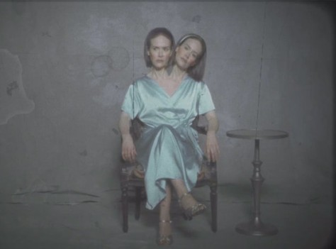 Sarah Paulson as Dot and Bette in a clip from AHS Freakshow