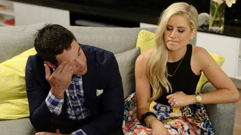 Devastated:  Michael and Carlene walk away with $10,000 in winnings.  (9News)