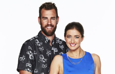 The Block Contestants Mark and Jess.  Source: Provided