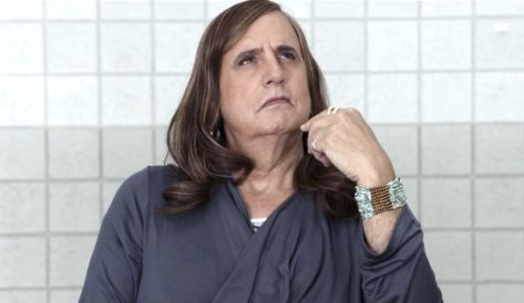 Jeffrey Tambor in his award winning role on Transparent