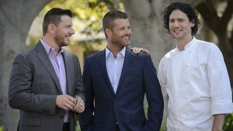 Judges Manu Fidel and Pete Evans are joined by Chef Colin Fassnidge