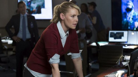 Katherine Heigl as CIA analyst Charleston Tucker.  Source: Privided