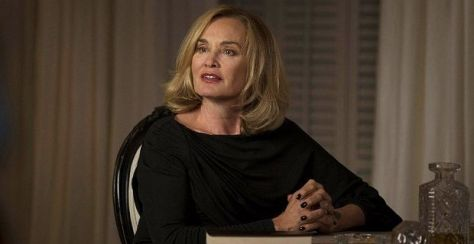 Lange as witch Fiona Goode from AHS Coven