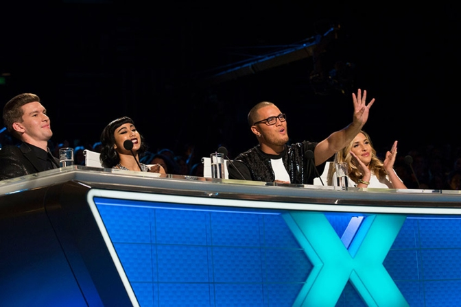 X Factor New Zealand Judge Outrage