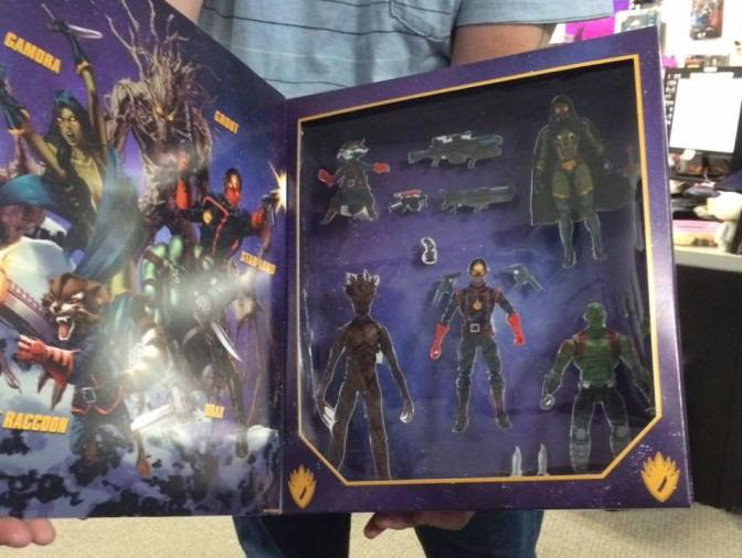 Toy Talk: Hasbro's Marvel Legends Guardians of the Galaxy Box Set