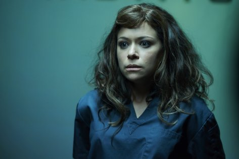 The clones find themselves in all sorts of trouble this season on Orphan Black.  Source: Provided