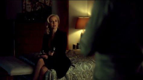 Gillian Anderson as Bedelia  Du Maurier