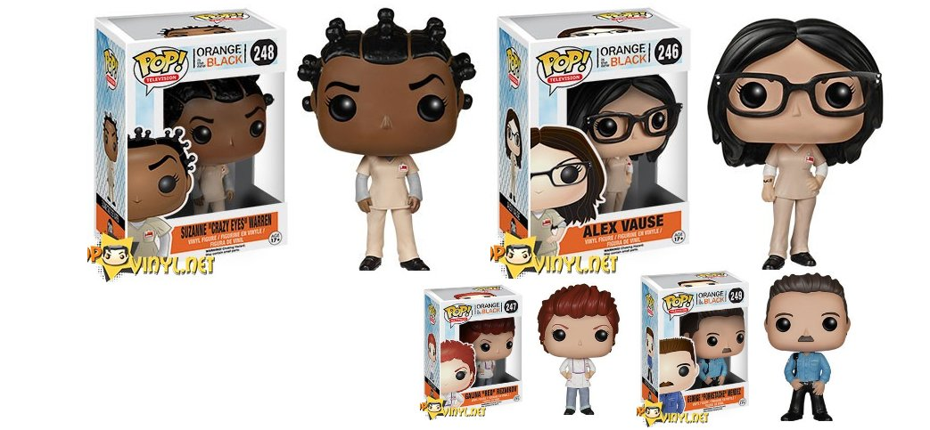 Orange Is The New Black And The New Pop Vinyl