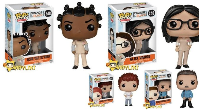 Orange is the New Black and the New Pop! Vinyl.