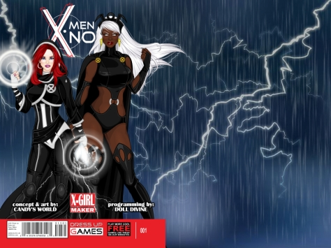 Doll Divine's X-Girl lets users create their own hero