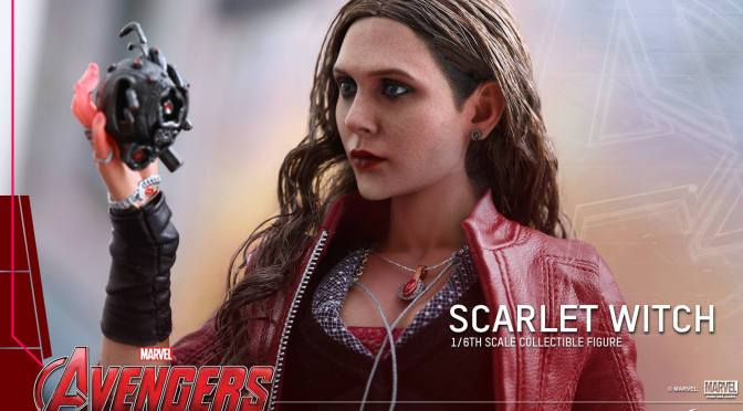 Hot Toys Avengers Age of Ultron 1/6 Scale Scarlet Witch First Look