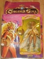 Golden Girl, guardian on the gemstones.