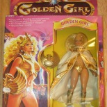 Golden Girl, guardian on the gemstones.