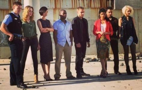 Sense8's Main Cast
