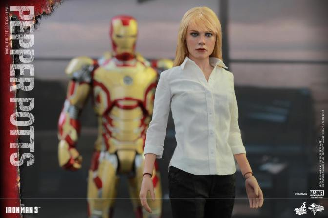 Hot Toys Adds Pepper Potts to it's Iron Man Releases