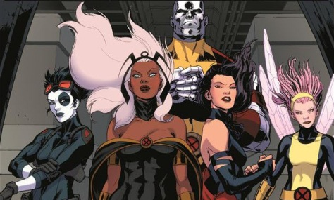 X-Men Storm and Psylocke will be siding with Apocalypse.