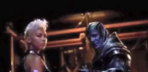 Storm and Apocalypse from the leaked trailer