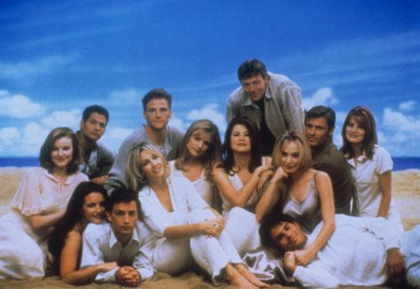 The actual cast of Spelling's Melrose Place