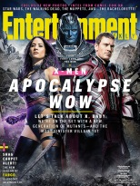 Entertainment Weekly Cover featuring Magneto, Psylocke and Apocalypse