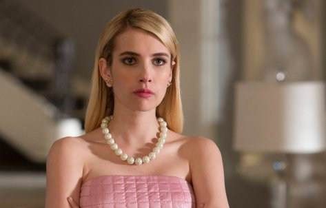 Emma Roberts as Kappa Kappa Tau leader Chanel No.1.  Source: Network 10