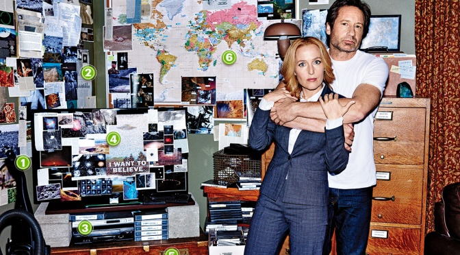 Let's Fanboy(girl) Together!  The X-Files New Season Sneak Peek Trailer is Here!