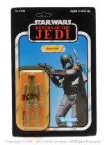 Carded Boba Fett Star Wars Figure sold for £460
