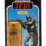Carded Boba Fett Star Wars Figure sold for £460