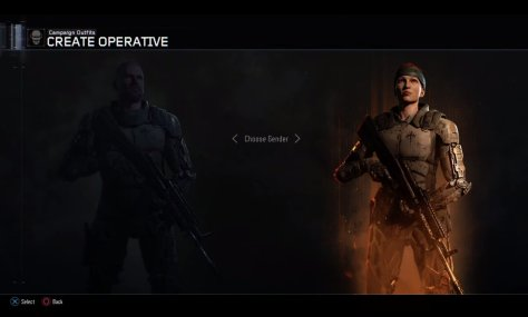 As previously confirmed, female soldiers will be playable in both multiplayer and campaign modes