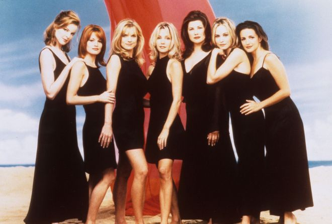 The ladies of the original Melrose Place.