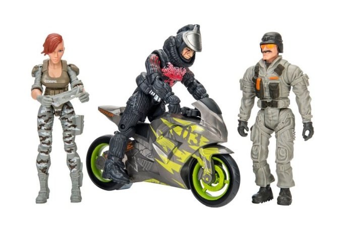 Toy Review: Total Soldier Corps Elite Vs The Curse