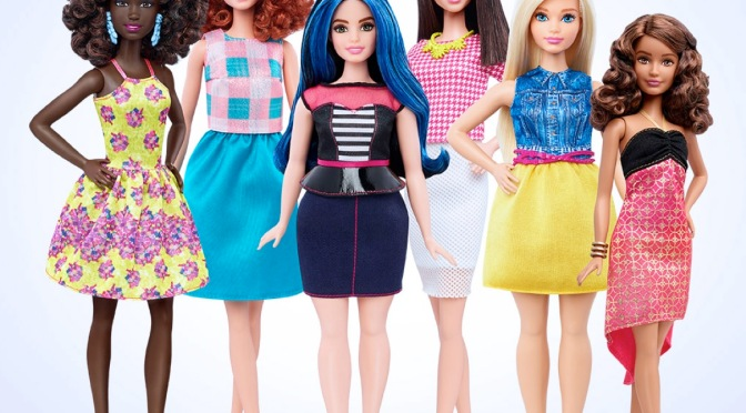 Barbie: Now Available in all Shapes and Sizes