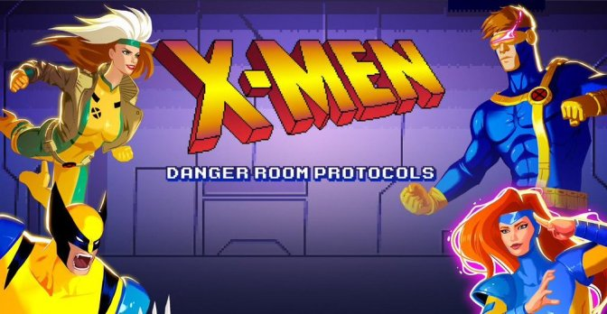 X-men Danger Room Protocols Channels 90's Animated Awesomness