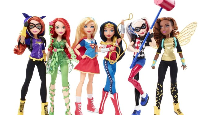 Mattel Takes on Female DC Super Heroes