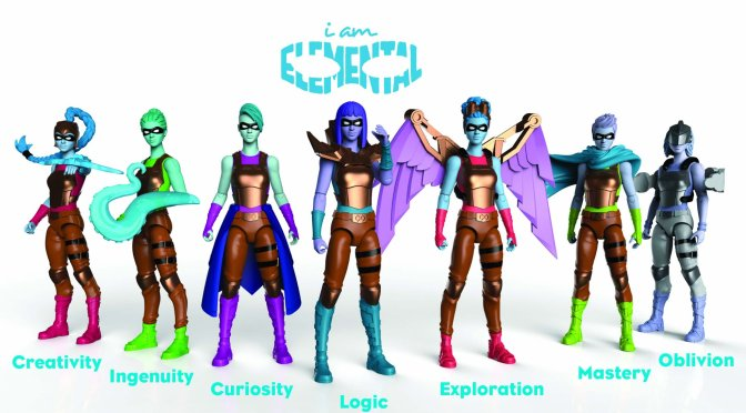 IAMElemental Reveals Series 2 Female Action Figures
